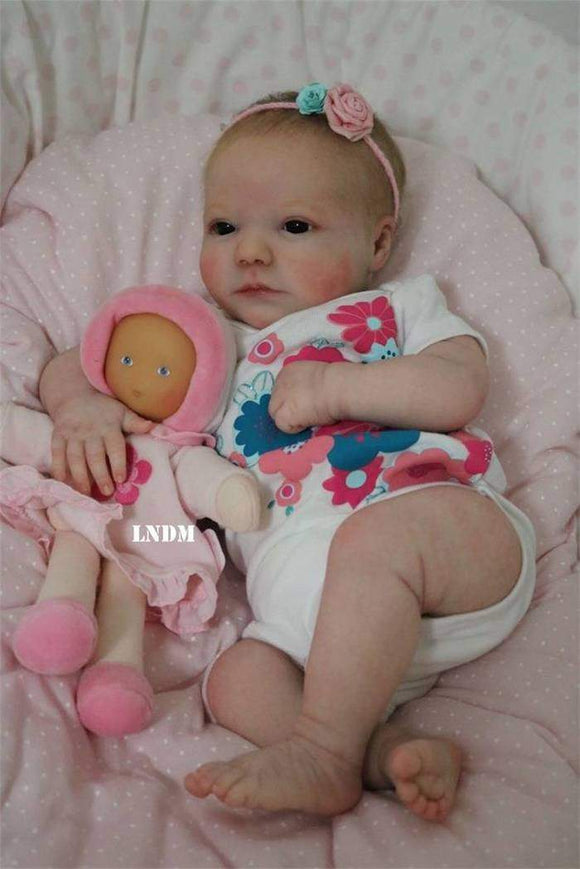 CUSTOM ORDER Reborn Doll Baby Girl or boy Realborn® June Awake 19 inches Full Limbs 4-6 lbs You Choose All Details Layaway Available! - mylittlestblessings.myshopify.com reborn baby, reborn doll, art dolls, custom babies, reborn babies