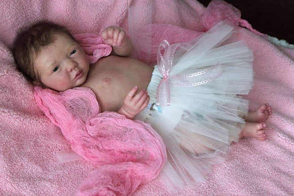 WANT TO MAKE AN OFFER?  CUSTOM ORDER Reborn Doll Baby Girl or boy Realborn® Miranda Awake 19 inches Full Limbs & You Choose All Details Layaway Available!