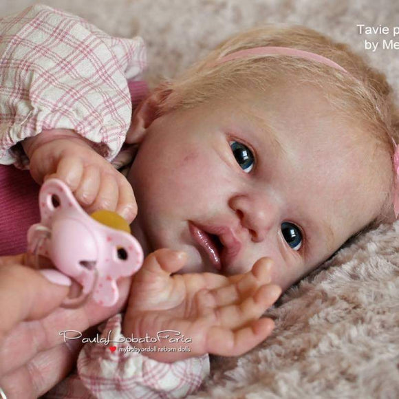 CUSTOM ORDER/Made To Order Reborn Doll Baby Girl or boy  Tavie By Melody Hess Full Limbs 20 Inches 7-9 lbs (Reborn Babies) - mylittlestblessings.myshopify.com reborn baby, reborn doll, art dolls, custom babies, reborn babies