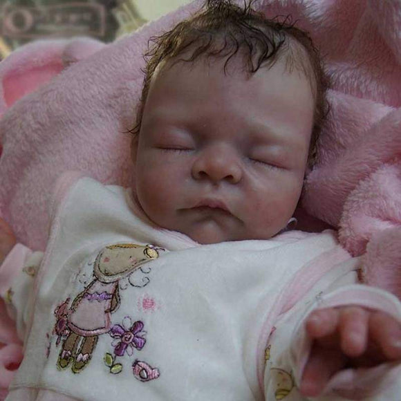 CUSTOM ORDER/Made To Order Reborn Doll Baby Girl or boy  Pebbles By Petra Lechner 19 inches 3/4 Limbs 5-7 pounds . (Reborn Babies) - mylittlestblessings.myshopify.com reborn baby, reborn doll, art dolls, custom babies, reborn babies