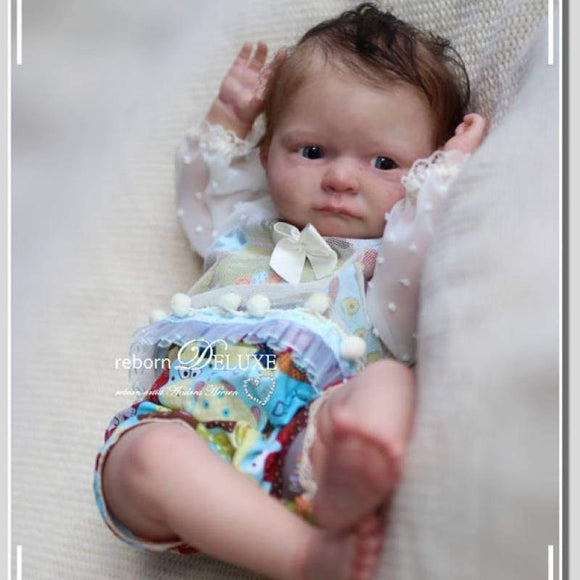 CUSTOM ORDER/Made To Order Reborn Doll Baby Girl or boy Tom By Iveta Eckertova 20 inches 3/4 Limbs 5-7 pounds . (Reborn Babies)