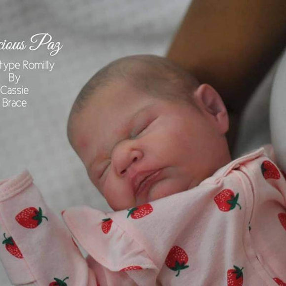 CUSTOM ORDER/Made To Order Reborn Doll Baby Girl or boy Romilly By Cassie Brace - 19 inches Full limbs 5-7 lbs. Vinyl. (Reborn Babies) - mylittlestblessings.myshopify.com reborn baby, reborn doll, art dolls, custom babies, reborn babies