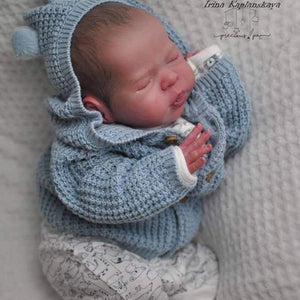 CUSTOM ORDER/Made To Order Reborn Doll Baby Girl or boy LE 555 Theo By Irina Kaplanskaya Full Limbs 19 Inches 5-7 lbs (Reborn Babies) - mylittlestblessings.myshopify.com reborn baby, reborn doll, art dolls, custom babies, reborn babies