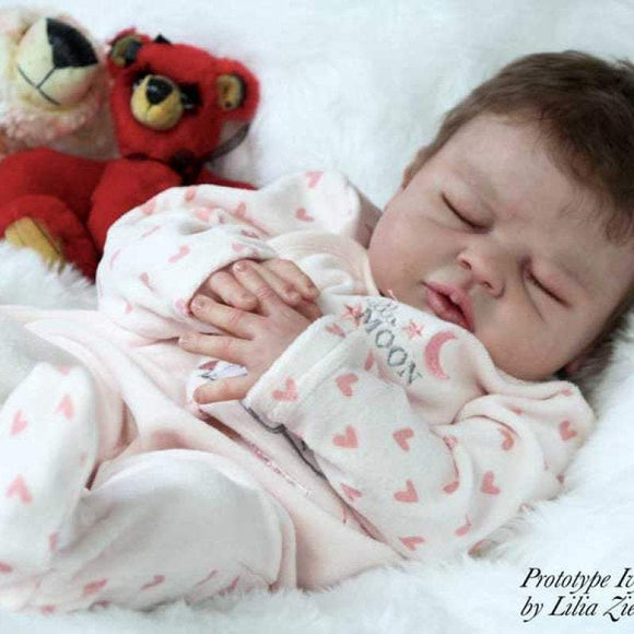 CUSTOM ORDER/Made To Order Reborn Doll Baby Girl or boy Ivy Jane By Melody Hess Full Limbs 22
