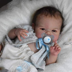"CUSTOM ORDER/Made To Order Reborn Doll Baby Girl or boy Parker By Sandy Faber 20"" 4-6lbs Full Ball Jointed Limbs + Torso (Reborn Babies) - mylittlestblessings.myshopify.com reborn baby, reborn doll, art dolls, custom babies, reborn babies"