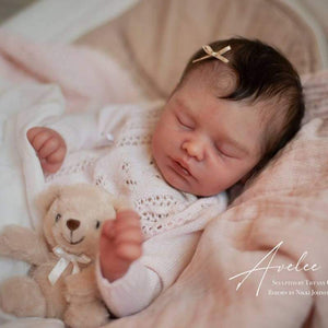 "CUSTOM ORDER/Made To Order Reborn Doll Baby Girl or boy Avelee By Tiffany Campbell 20"" 4-6lbs Full Limbs (Reborn Babies) - mylittlestblessings.myshopify.com reborn baby, reborn doll, art dolls, custom babies, reborn babies"