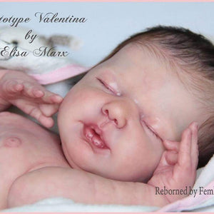 CUSTOM ORDER/Made To Order Reborn Doll Baby Girl or boy Valentina By Elisa Marx 19 inches Full Limbs 4-6 lbs (Reborn Babies) - mylittlestblessings.myshopify.com reborn baby, reborn doll, art dolls, custom babies, reborn babies