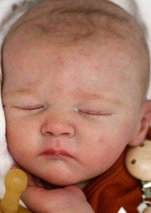 CUSTOM ORDER/Made To Order Reborn Doll Baby Girl or boy  Polina by Bonnie Sieben Full Limbs 21 Inches 4-6 lbs (Reborn Babies) - mylittlestblessings.myshopify.com reborn baby, reborn doll, art dolls, custom babies, reborn babies