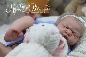 LAST ONE!  Custom/Made To Order Reborn Doll Baby Girl or boy *SOLE*  Kai By Nicole Russell Full Limbs 21 Inches 4-6 lbs (Reborn Babies) - mylittlestblessings.myshopify.com reborn baby, reborn doll, art dolls, custom babies, reborn babies
