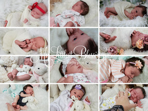 CuStOm Realborn® Macey Sleeping (18 Inches + Full Limbs) *Requires Longer Processing Time.