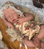 FULL SILICONE Baby Lacy Jane by Laurie Sullivan Roy.  Custom Platinum Silicone Baby Girl. Full body Platinum Silicone reborn baby.