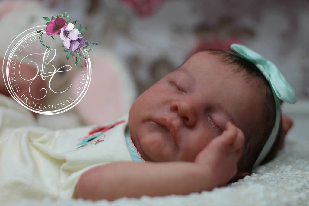 HIGH END Custom Remake rEbOrN bAbY Approximate Weight 6 lbs Levi by Bonnie Brown.