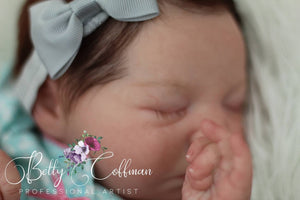 HIGH END Custom Remake rEbOrN bAbY Approximate Weight 6 lbs Realborn Zuri Sleeping