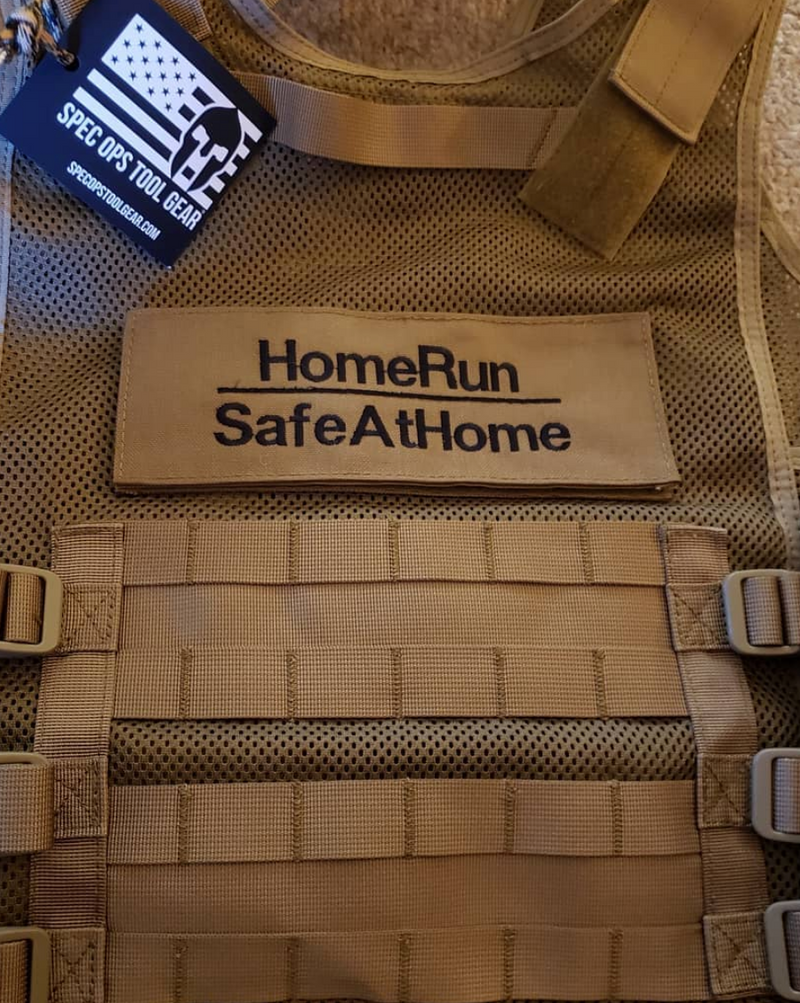 Customized Vest Back Patch