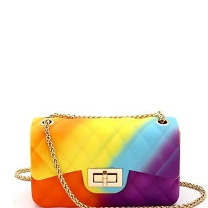 Rainbow Jelly Mini Crossbody