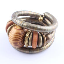 Load image into Gallery viewer, Tribal wrap bracelets