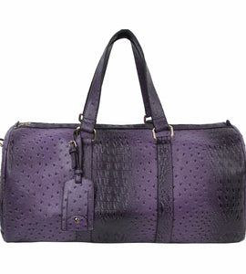 Deep Purple Travel Duffle