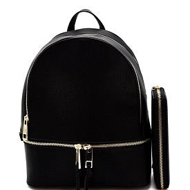 Black Oasis Backpack Set