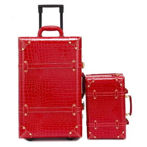 """RED""y Set Go 2-piece luggage"