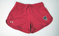 WOMENS VIMY UA Assist Shorts RED