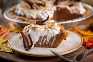 Chocolate Cream S'more Pie