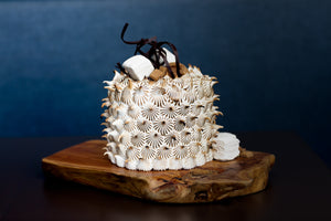 Toasted S'mores Cake