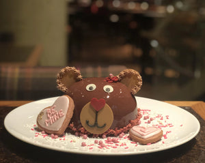 Cuddle Bear Cake AVAILABLE AT STATE AND LAKE CHICAGO TAVERN FEB 14th & 15th!!!