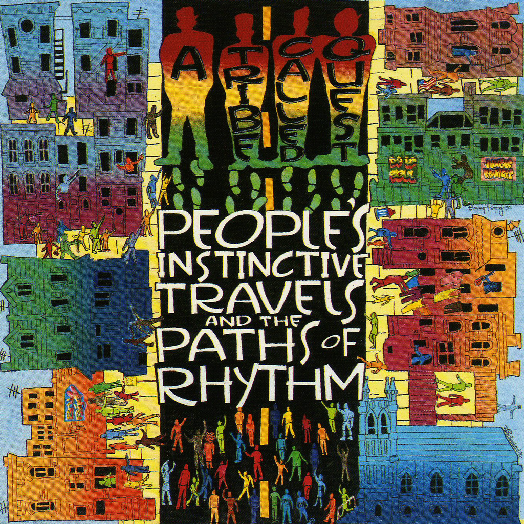 "A Tribe Called Quest ""People's Instinctive Travels and the Paths of Rhythm"" 2xLP Vinyl"