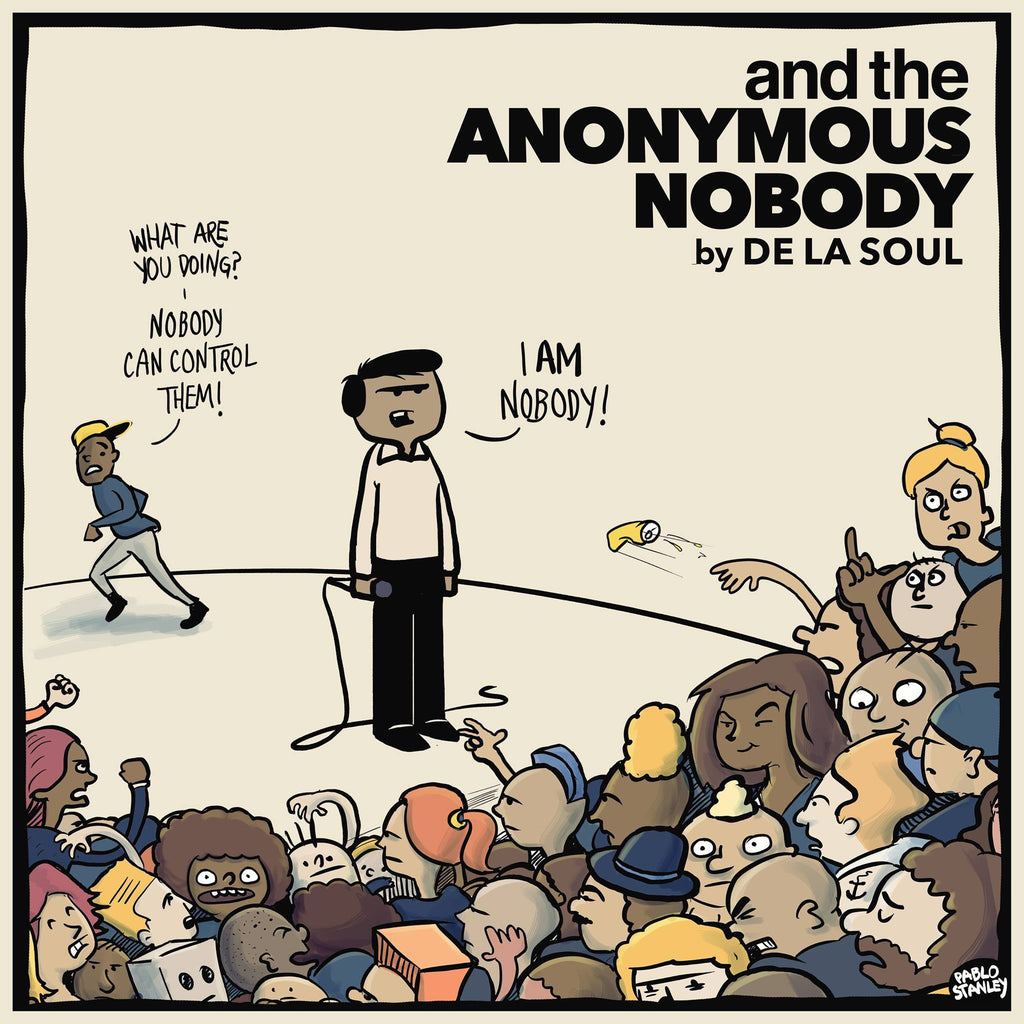 "De La Soul ""and the Anonymous Nobody"" 2xLP Vinyl"