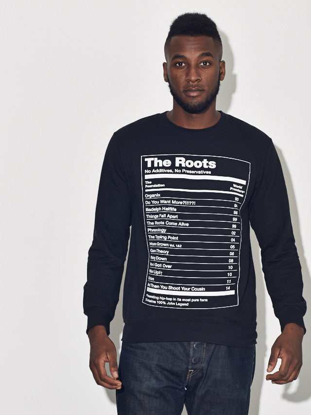 "The Roots ""The Ultimate"" Fleece Pullover Lightweight Crewneck"