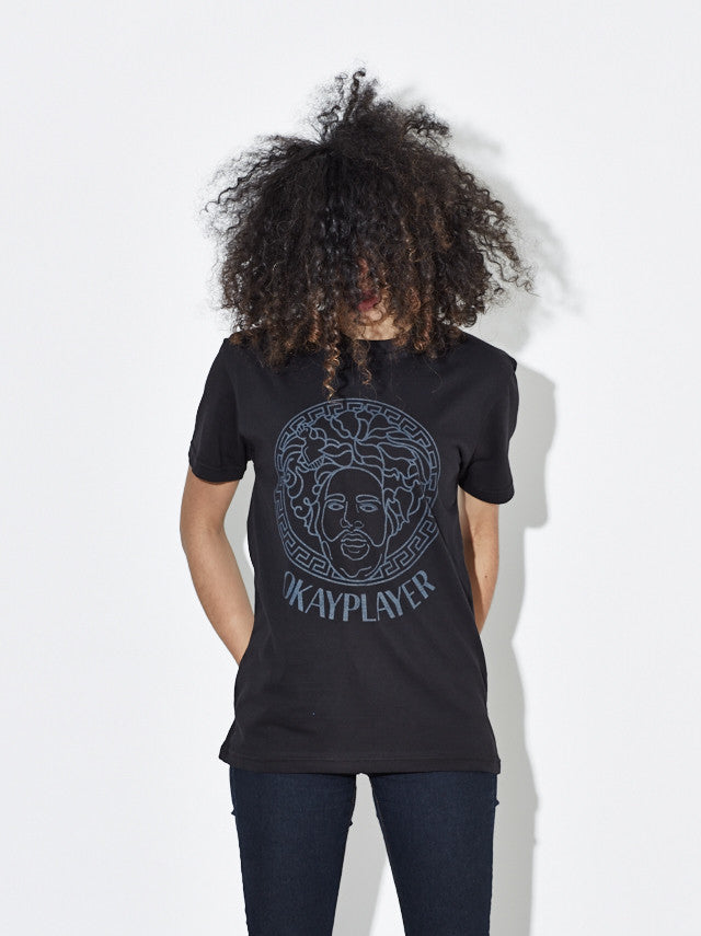 "Okayplayer ""Migos"" T-Shirt in Black and White"