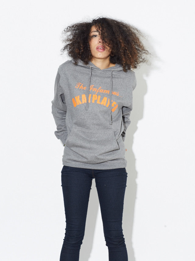 The Infamous Hooded Sweatshirt (Grey) [S / M]