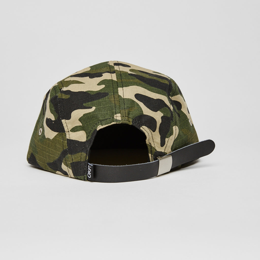 Okayplayer Ripstop 5 Panel Camper - Camo