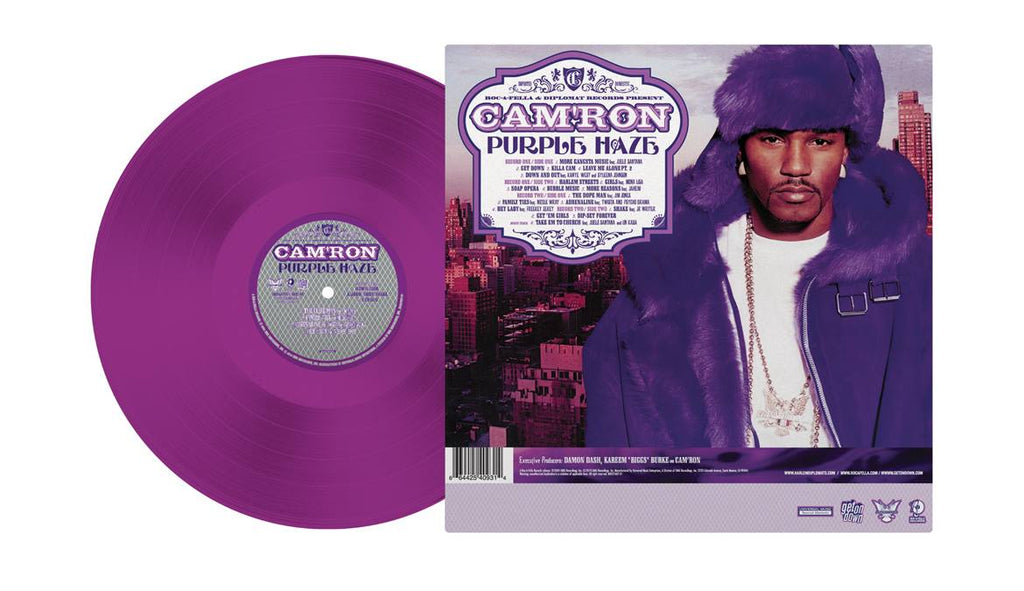 "Cam'ron ""Purple Haze"" 2xLP Purple Vinyl (Record Store Day 2018)"