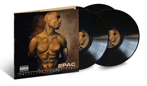 "2Pac ""Until The End Of Time"" 4xLP"