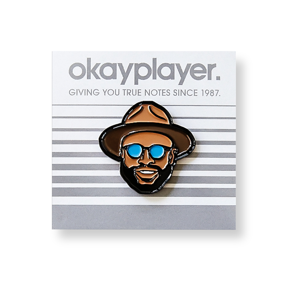 Black Thought Pin