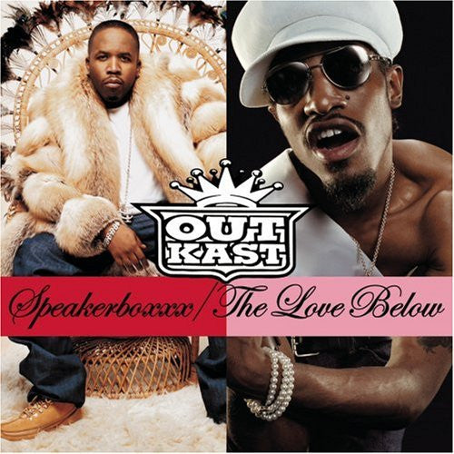 "OutKast ""Speakerboxxx / The Love Below"" 4xLP Vinyl"