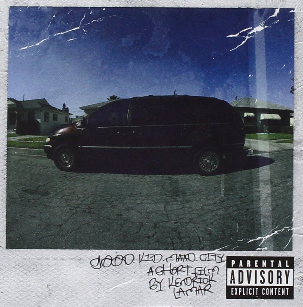 "Kendrick Lamar ""good kid, m.A.A.d city"" 2xLP Vinyl"