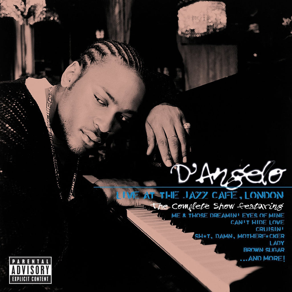 "D'Angelo ""Live At The Jazz Café, London: The Complete Show"" 2xLP Vinyl"