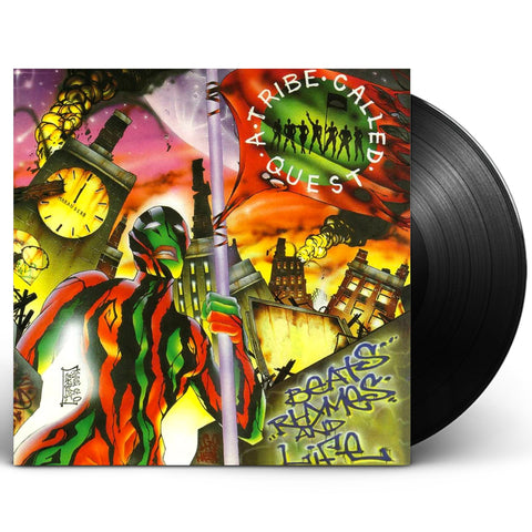 "A TRIBE CALLED QUEST ""BEATS, RHYMES AND LIFE"" 2XLP VINYL"