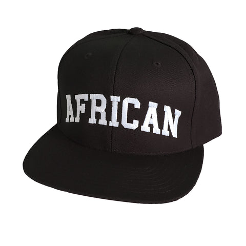 African Uni Hat Black