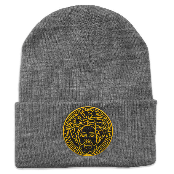"Questlove ""Migos"" Embroidered Knit Hat"