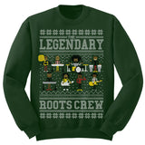 The Legendary Roots Crew 2016 Holiday Sweatshirt [Green / 2XL]