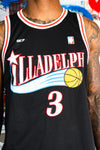 Classic Illadelph Bball Jersey - Front Up Close