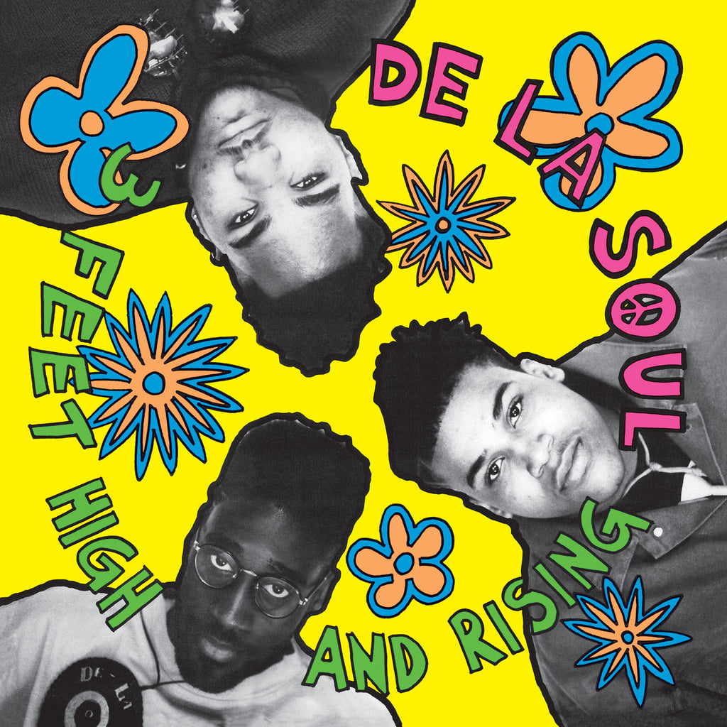 "De La Soul ""3 Feet High and Rising"" 2xLP Vinyl"