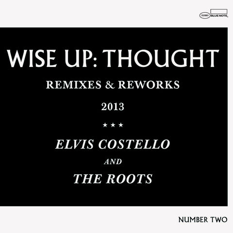 "Elvis Costello & The Roots ""Wise Up: Thought - Remixes and Reworks"" 12"" EP Vinyl"