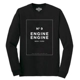 Engine Engine No. 9 Long Sleeve Black T-Shirt