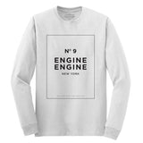 Engine Engine No. 9 Long Sleeve White T-Shirt