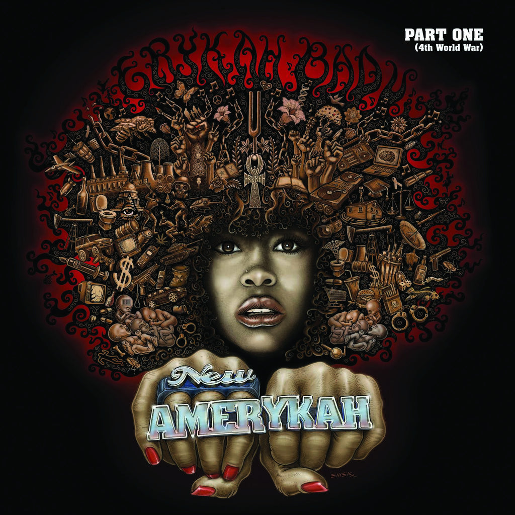 "Erykah Badu - ""New Amerykah Part One (4th World War)"" 2xLP Vinyl"