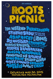 8th Annual Roots Picnic Poster